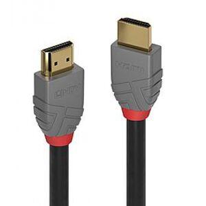 Lindy 36960 - HDMI High Speed HDMI Kabel, Anthra Line - 0.3m