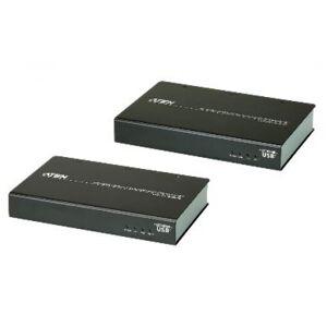 Aten VE813A-AT-G - 4K HDMI HDBaseT Extender with ExtremeUSB (4K@100m) (HDBaseT Class A)