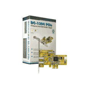 DawiControl DC-1394 - FireWire Controller - PCI-Express - Retail