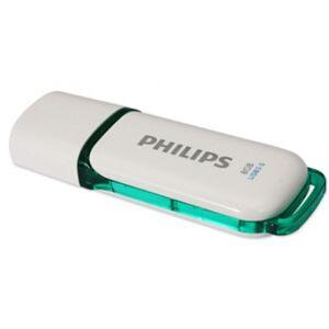 Philips FM08FD75B/00 - USB3-Stick weiss/Grün - 8GB