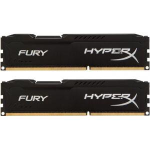 Kingston 8 GB DDR3-RAM - 1600MHz - (HX316C10FBK2/8) Kingston HyperX Fury Black-Serie CL10