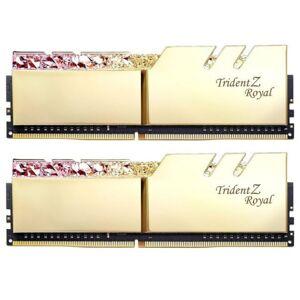 G.Skill 16 GB DDR4-RAM - 4266MHz - (F4-4266C19D-16GTRG) G.Skill TridentZ Royal Gold Kit CL19