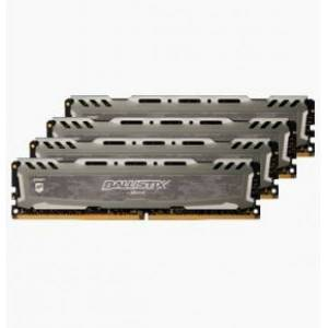 Crucial 32 GB DDR4-RAM - 3000MHz - (BLS4K8G4D30AESBK) Crucial Ballistix Sport LT Kit CL15