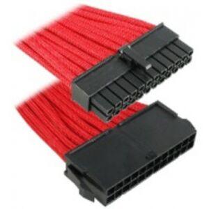 BitFenix 24-Pin ATX Verlängerung 30cm - sleeved red/black