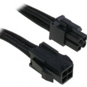 BitFenix 4-Pin ATX12V Verlängerung 45cm - sleeved black/black