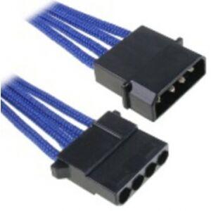 BitFenix Molex Verlängerung 45cm - sleeved blue/black