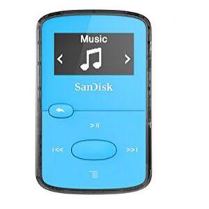 SanDisk Clip JAM - MP3-Player Hellblau - 8GB
