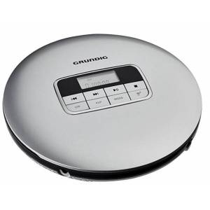 Grundig GCDP 8000 - Tragbarer CD-Player - Silber/Schwarz