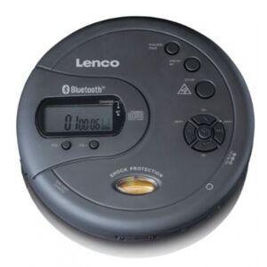 Lenco CD-300 - portabler Bluetooth CD-Player - Schwarz