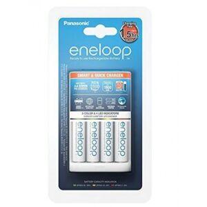 Panasonic Eneloop Smart & Quick Charger BQ-CC55 + 1x4 AA 1900mAh