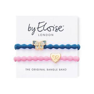 byEloise Haargummis Bling Butterfly Dove Blue Gold Heart Ballet Pink 1 Stk.