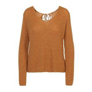 VILA Pullover mit V-Ausschnitt vorne und hinten