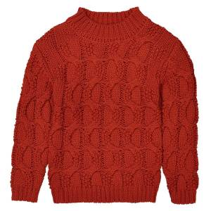 LA REDOUTE COLLECTIONS Strickpullover mit Zopfmuster, 3-12 Jahre