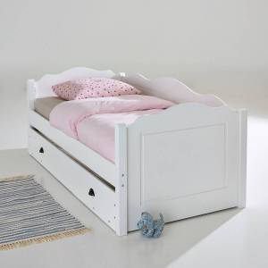 LA REDOUTE INTERIEURS Bett mit Bettkasten/Unterbett Authentic Style