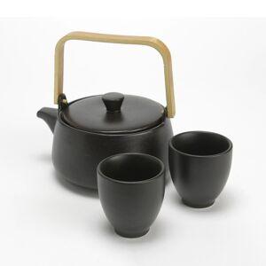 LA REDOUTE INTERIEURS Set aus Teekanne und 2 Tassen Tippoto