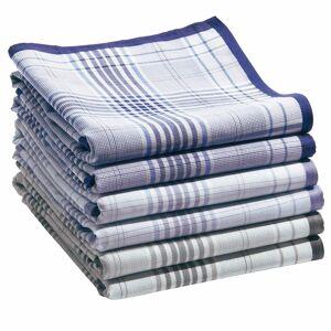 LA REDOUTE INTERIEURS 6er-Pack Taschentücher, reine Mako-Baumwolle