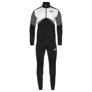 Puma Trainingsanzug 'CB Retro' weiß / grau / schwarz S,L,XL,M,XXL
