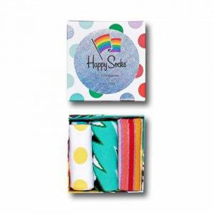 Happy Socks HappySocks 3-Pack Mixed Pride Socks Gift Set 36-40