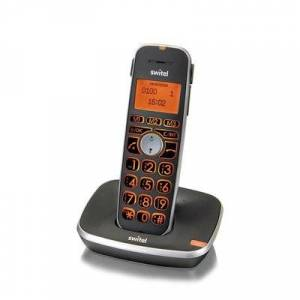 Switel Schnurloses Telefon für Senioren - Switel D100