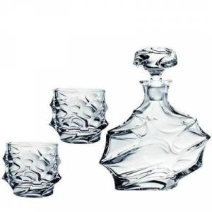 "geschenkidee.ch Whisky Set 7tlg. luxury ""Bohemian Design"""