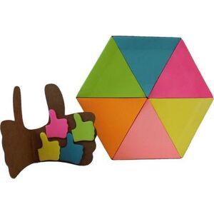 geschenkidee.ch Notizzettel Set Daumen hoch und Dreieck