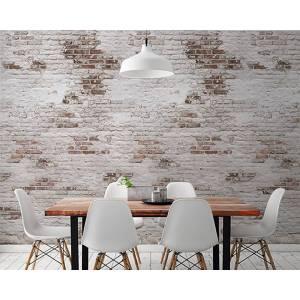 Andiamo GRANDECO TAPETE Vliestapete »Backstein Wand«, 1 Rolle á 3 Bahnen 159 cm x 280 cm