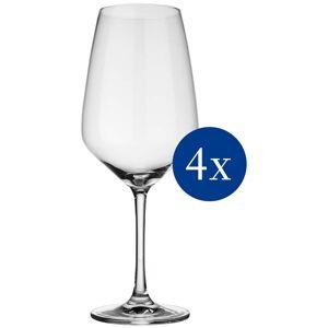 Villeroy & Boch vivo Villeroy & Boch Group Rotweinglas »Voice Basic«, (Set, 4 tlg.), 4-teilig transparent