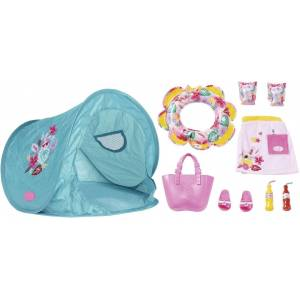 "Baby Born Puppen Zelt ""Holiday Strand Set"""
