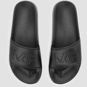 Myprotein MP Pánské pantofle - Černé - UK 6