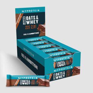 Myprotein Oats & Whey proteinová tyčinka - Čokoládové kousky