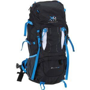 XQ MAX Turistický batoh XLITE, lehký trekkingový batoh – 60 l, černá barva