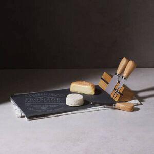 Secret de Gourmet Kamenná deska na servírování sýra + 3 nože ,  SECRET de GOURMET