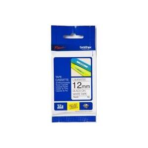 Brother TZe-211  - Labelling tape 6mm white / black TZe-211