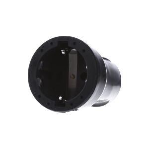 1679000  - Schuko coupler plastic black 1679000