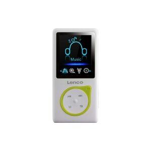 XEMIO-668 LIME  (4 pce) - Portable MP3 player 8GB USB XEMIO-668 LIME