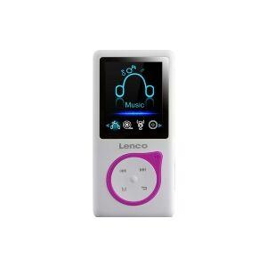 XEMIO-668 PINK  (4 pce) - Portable MP3 player 8GB USB XEMIO-668 PINK