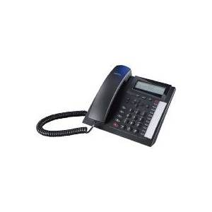 T 18 sw  - Analogue telephone with cord black T 18 sw
