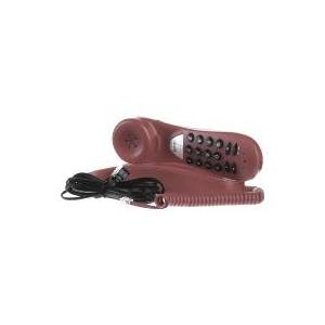tiptel 114 rt  - Analogue telephone with cord red tiptel 114 rt