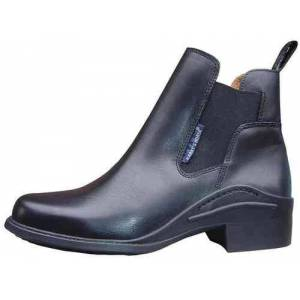 Happy-Horse-Riding-Equipment Ankle Boot Antarctica, black, lined
