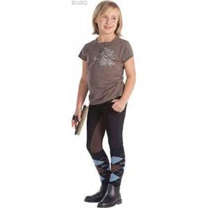 Happy-Horse-Riding-Equipment Children's Breeches Melanie black-brown
