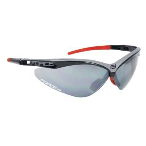 Force Air bicycle glasses with 3 lenses black