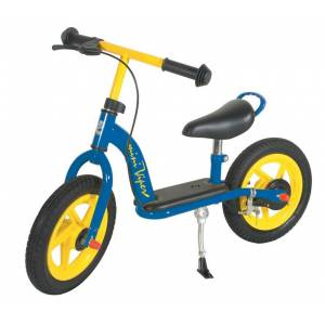 """Point Balance bicycle blue/yellow 12"""""""
