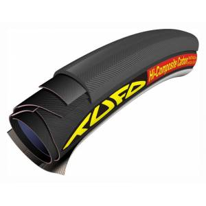 Tufo Hi-Composite Carbon (HICC) Tubular tire  700x23c black