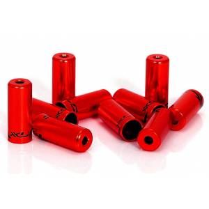 XLC end plugs for outer cable 5 mm red 10 pcs