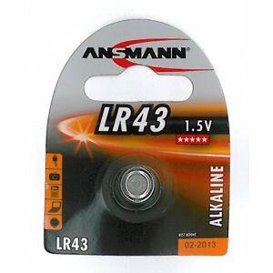 LR43 battery 1 pcs.