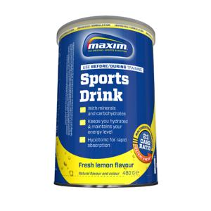 Maxim energydrink lemon