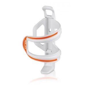 XLC Sidecage bottle cage white/orange
