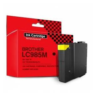 Brother Ink Cartridge, Compatible, Replaces Brother LC985M, 19 ml, Magenta, 1 piece(s)