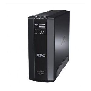 APC BR900GI, 900 VA, 540W, 50/60 Hz, Sealed Lead Acid (VRLA), 8h, Black