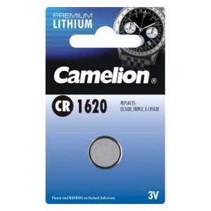 Camelion Lithium Button Cell, CR1620 / DL1620 / 5009LC / E-CR1620 / 280-208, 3V - 1 pieces